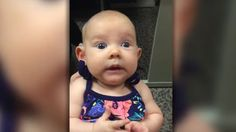 Deaf Baby Hears Mom for the First Time