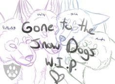 GoneToTheSnowDogs W.I.P. by CamiPawz