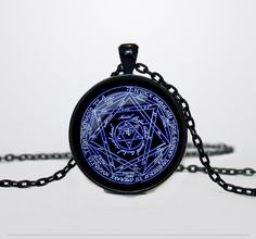 Alchemical magic sign pendant Alchemical magic by ThePendantIsland, $13.50