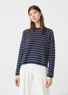 Pull-over cordon tressé | MANGO