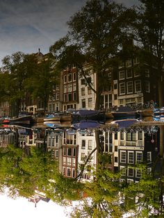 Reflections Of Amsterdam - Double...