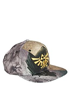 The Legend Of Zelda Twilight Princess Split Crown Snapback Hat 1632f0368a9c
