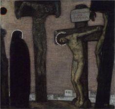 Golgotha - Franz Stuck, 1917