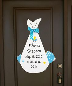 It's a Girl Baby Door Hanger Sign, Custom Welcome Home Baby Announcement . It's a Girl Baby Door Hanger Sign, Custom Welcome Home Baby Announcement … – Birth stats si Welcome Baby Showers, Welcome Home Signs, Welcome Home Baby, Baby Stork, Stork Baby Showers, Baby Boy Decorations, Baby Decor, Baby Door Signs, Baby Door Hangers