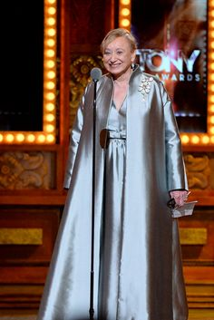 Costume Designer Jane Greenwood accepts the Special Tony Award for Lifetime Achievement in the Theatre onstage during the 68th Annual Tony A...