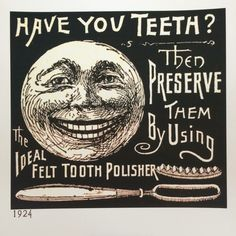 Dental ad from 1924 that I got from one fellow dentist... Dr Coburn.... Perfect time frame add from my great grandfather, Dr Butler... A dentist that started in1917. Generationsdentalcda.com