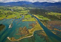 Takaka River Mouth, see more, learn more, at New Zealand Journeys app for iPad www.gopix.co.nz