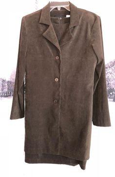 Sag Harbor Dress Brown 2 Piece Dress Suit Dress Coat Size 8   Clothing, Shoes & Accessories, Women's Clothing, Dresses   eBay!
