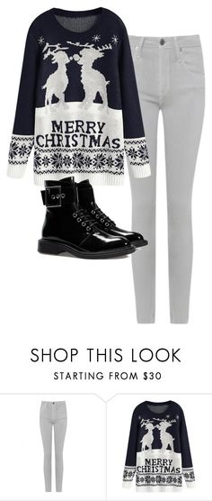"""""""Derek Hale inspired Christmas outfit"""" by samtiritilli ❤ liked on Polyvore featuring Helmut by Helmut Lang and Zara"""