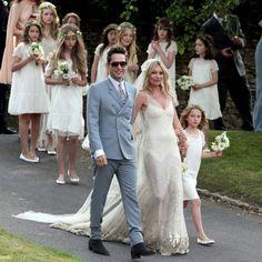 Kate Moss de camino al altar