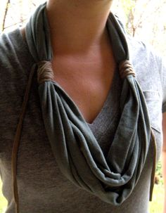 Recycled Cowl Scarf