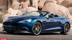 The world's most beautiful supercar (that's official that is) the Aston Martin Vanquish, has gone topless.