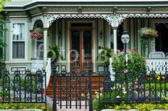 Victorian Porches ~ Cape May, NJ
