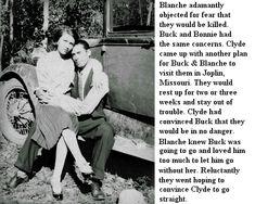 Blanche & Buck Barrow ~ Page 1