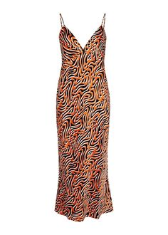 OLIVIA VON HALLE-<Tag 10015>-Issa Trance printed silk midi dress. #olivia-von-halle #<Tag 10015> Olivia Von Halle, Satin Midi Dress, White Silk, Bridal Style, Designing Women, Lounge Wear, Wrap Dress, Street Style, Summer Dresses