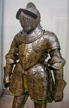 the-wicked-knight:        Ceremonial Plate Armor, 16th century, Arms and Armor Court, the Metropolitan Museum of Art.