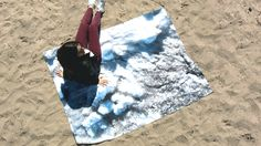On the Ice and Snow Blanket Design by Studio Run Design. Its a blanket that is inspired by the Canadian Winter Landscape