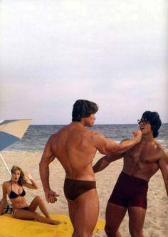 Arnold Schwarzenegger by Ara Gallant.