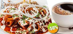 Pinocchio Restaurante - $55 en lugar de $110 por 1 Desayuno de 1 Plato de Fruta con Yogurt + 1 Orden de Chilaquiles con Huevo ó 1 Orden de 3 Quesadillas + 1 Café o Té Click http://cupocity.com/