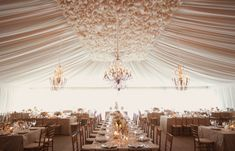 15 Swoon-Worthy Tent Wedding Ideas | bellethemagazine.com