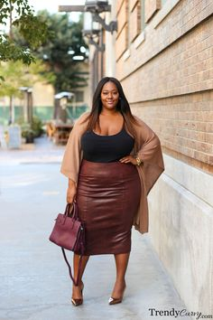 Pencil Me In | Plus Size Fashion | TrendyCurvy