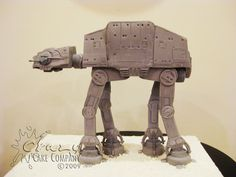 AT-AT Cake | by Crazy Cake Lady