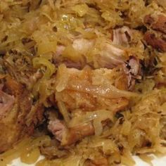 Kraut Pork and other German food!  I'm half german and grew up on some of this stuff!