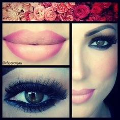 Wearable Ombre lips, smoky eyes and cheeks All Things Beauty, Beauty Make Up, My Beauty, Beauty Hacks, Hair Beauty, Beauty Tips, Beauty Stuff, Beauty Ideas, Gorgeous Makeup