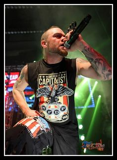Ivan, Chicago show. Five Finger Death Punch.