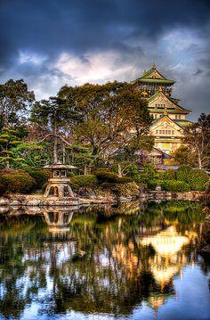 Osaka Castle, Japan