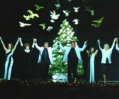 Hamner Barber Wings of Christmas variety show in Branson, MO.