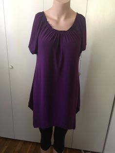 NEW Casual Land Women's Tee Shirt Top Short Sleeve Tunic Blouse Medium  | eBay