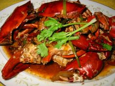 Chili Crab Street Foods with Asian Flare Great Chili Recipes, Best Chili Recipe, Crab Recipes, Asian Recipes, Dinner Recipes, Chilli Crab Recipe, A Food, Good Food, Asian Street Food
