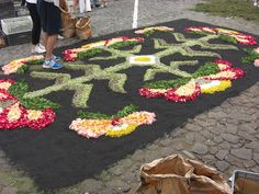 Sweet patchwork: Alfombras de flores