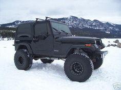 Classic Jeep Wrangler.