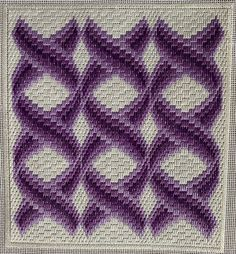 Swedish Embroidery, Hand Embroidery, Embroidery Designs, Bargello Patterns, Bargello Needlepoint, Plastic Canvas, Blackwork, Tapestry, Sewing