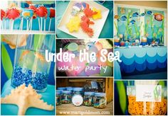 Under the Sea Summer Party Ideas | Photo 22 of 33 | Catch My Party