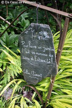 Pour faire un jardin il faut un morceau de terre et l'éternité - Gilles Clément