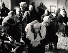 """Mario Giacomelli, """"Verrà la morte e avrà i tuoi occhi"""", 1955-1956 e 1966, 1967, 1968 - """"Mario Giacomelli. Fotografie dall'Archivio di Luigi Crocenzi"""" [Mario Giacomelli. Photographs from Luigi Crocenzi's archives], exhibition @ Museo di Roma in Trastevere"""