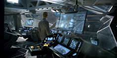 Prometheus, bridge, computeres, ai, ui, displays, cockpit, viewing deck