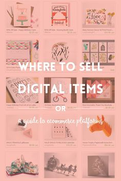 If you are a designer and want to sell digital products, read about 6 ecommerce platforms that I like and see if they are good for you.