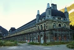 Canfranc International Railway Station Abandoned Since the 1970s
