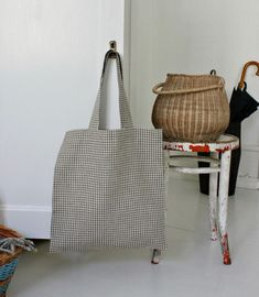 Blødt til boligen Archives - susanne-gustafsson. Sewing Clothes, Diy Clothes, Needle And Thread, Dyi, Diy And Crafts, Reusable Tote Bags, Inspiration, Design, God Mad
