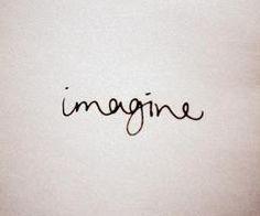 Imagine tattoo in John Lennon's handwriting - Поиск в Google