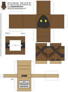 Paper Pezzy- Jawa by CyberDrone.deviantart.com on @DeviantArt