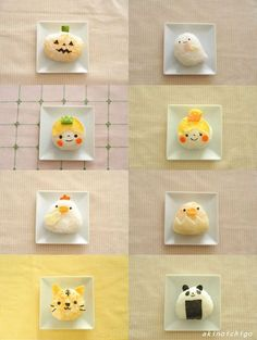 """TableMark's pack rice """"bouncy! Onigirizumu"""" exciting character lunch box"""