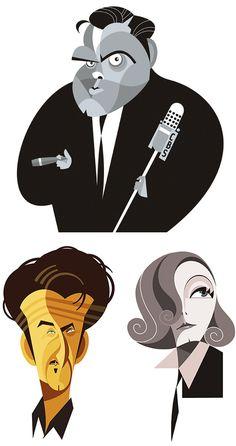Illustrations by Fabio Corazza a free lance illustrator & graphic designer from Sao Paulo Brazil