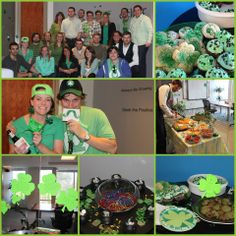 St. Patrick's Day Festivities at the office!