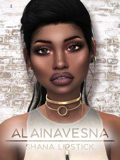 Alaina Vesna: Shana lipstick • Sims 4 Downloads