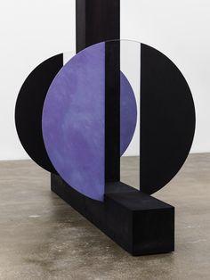 Equal Night, 2013, (detail) – by Patrick Hill | medium: rice paper, dye, glass, wood, glue | David Kordansky Gallery.